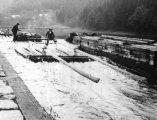 Vory v propusti u Honsova mlýna (z archivu Z. Javůrka)