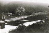 Řetězový most kolem roku 1910