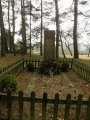 Hrob ruského vojáka, který padl na Podolsku
