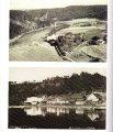Nahoře vlevo Honsův mlýn, vpravo Charyparova hospoda, dole Saník