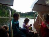 Projížďka lodí z Podolska na Červenou